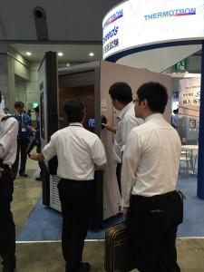 恒温槽・恒湿槽・環境試験装置の展示会HP-TEST2015-4